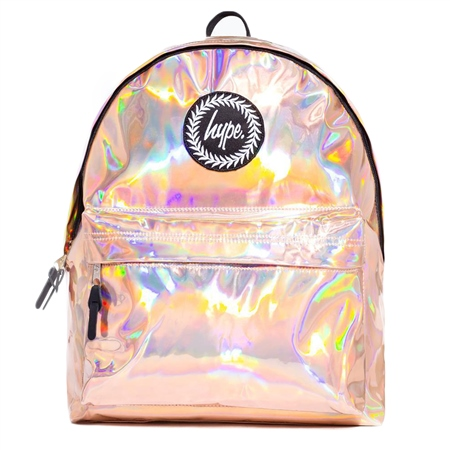 Hype Hologrphc Backpack - Rosegold  - Click to view a larger image