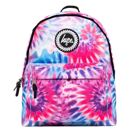 Hype Pink Wavey Backpack - Multi  - Click to view a larger image