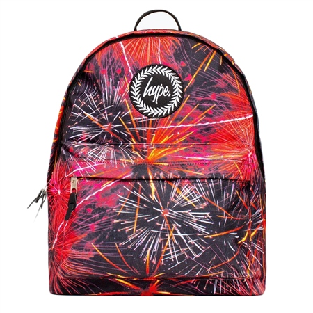 Hype Red Firewrk Backpack - Multi  - Click to view a larger image