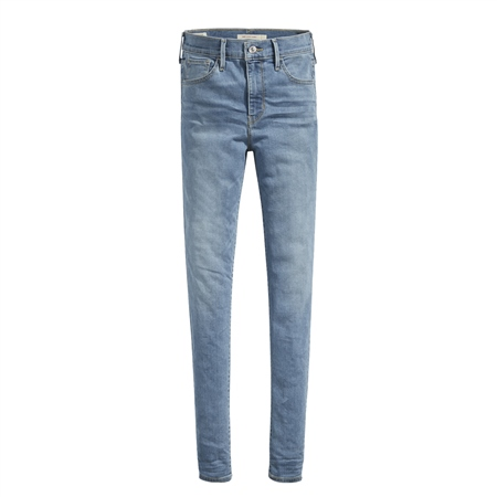 Levi's 720 High Rise Super Skinny Jeans - Blue  - Click to view a larger image