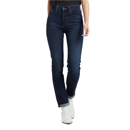 Levi's 724 High Rise Straight Jeans - London Bridge  - Click to view a larger image