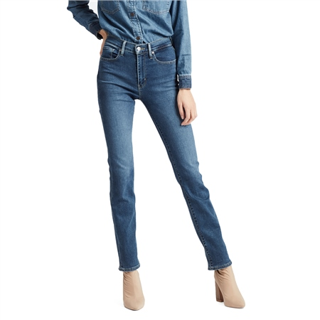 Levi's 724™ High Rise Straight Jeans - Paris Stroll  - Click to view a larger image