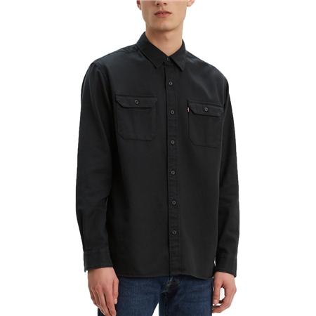 Levi's Jackson Worker Shirt - Caviar  - Click to view a larger image