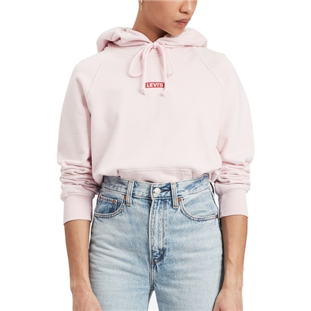 Levi's Grap Sport Hoody - Pink  - Click to view a larger image