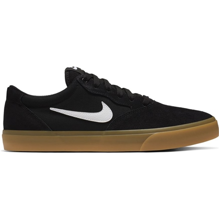 Nike SB Chron SLR Shoes - Black  - Click to view a larger image
