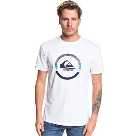 Quiksilver Snake T-Shirt - White  - Click to view a larger image