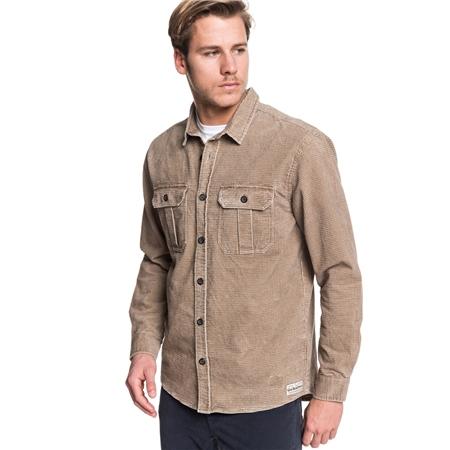 Quiksilver Sara Toga Shirt - Caribou  - Click to view a larger image