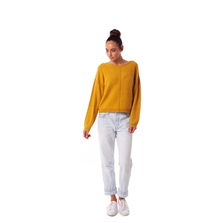 Rhythm Silverlake Jumper - Turmeric  - Click to view a larger image
