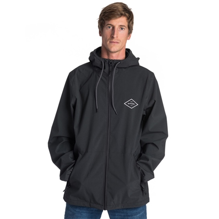 Rip Curl Essential Surfers Anti-Series Tech Jacket - Black  - Click to view a larger image