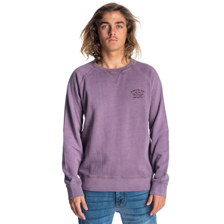 Rip Curl Organic Sweatshirt - Purple  - Click to view a larger image
