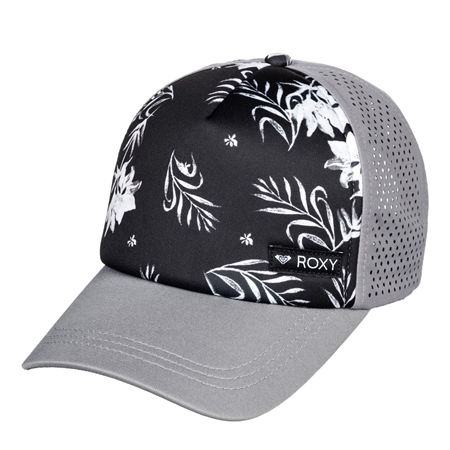 Roxy Waves Machine Trucker Cap - Black  - Click to view a larger image