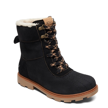 Roxy Meisa Boots - Black  - Click to view a larger image
