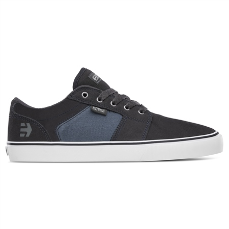Etnies Barge Shoes - Grey & Blue  - Click to view a larger image