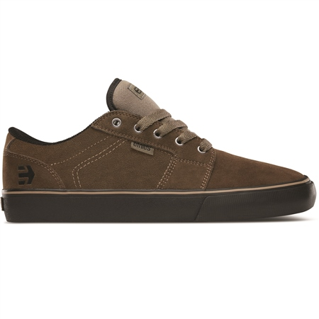 Etnies Barge Shoes - Olive & Black  - Click to view a larger image