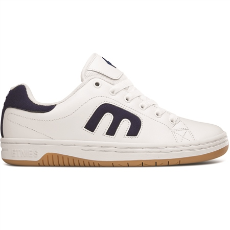Etnies Calli-Cut Shoes - White & Navy  - Click to view a larger image
