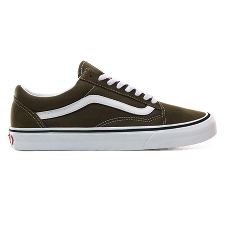 Vans Old Skool Shoes - Beech & White  - Click to view a larger image