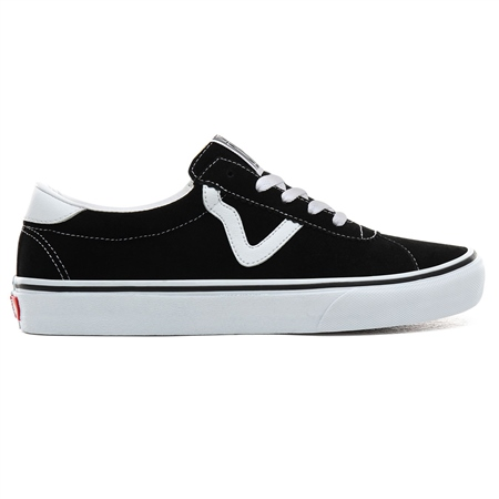 Vans Sport Suede Shoes - Black  - Click to view a larger image