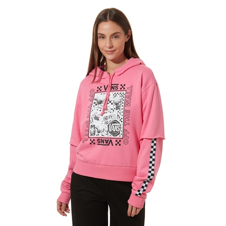 Vans Sting Hoody - Azalea Pink  - Click to view a larger image