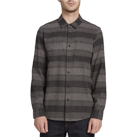Volcom Tone Stone Shirt - Black  - Click to view a larger image
