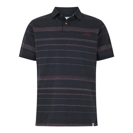 Weird Fish Draycott Polo Shirt - Black  - Click to view a larger image
