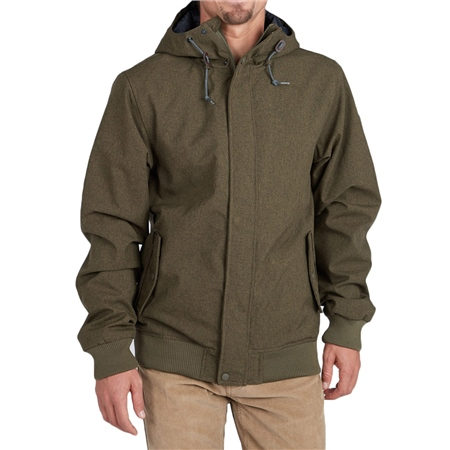 Billabong All Day Jacket - Green  - Click to view a larger image