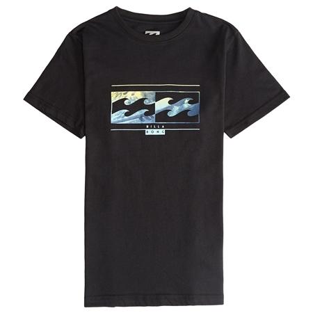 Billabong Boys Inversed T-Shirt - Black  - Click to view a larger image