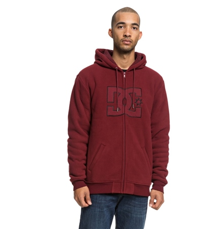 DC Shoes New Star Mens Hoody - Cabernet  - Click to view a larger image