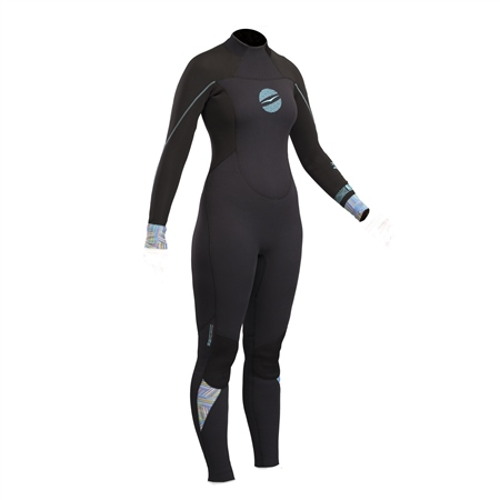 Gul Womens Response 3/2mm Wetsuit - Black  - Click to view a larger image