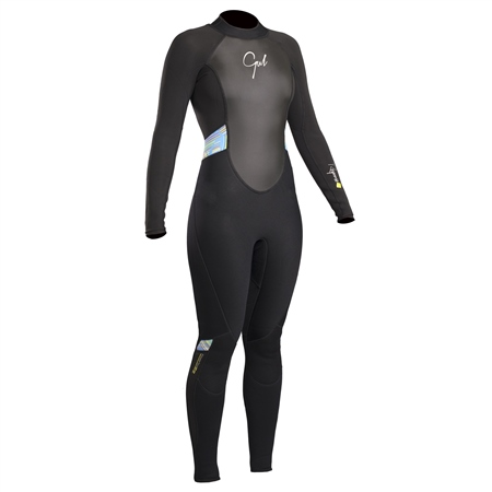 Gul Womens Response Back Zip 3/2mm Wetsuit - Multi  - Click to view a larger image