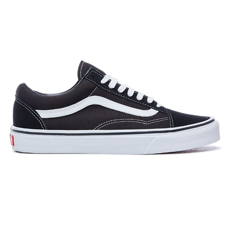 Vans Womens Old Skool Shoes - Black & White  - Click to view a larger image