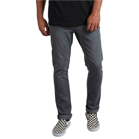 Volcom Vorta Mens Jeans - Grey  - Click to view a larger image