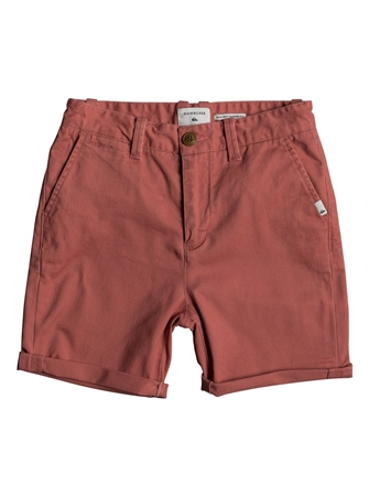 Quiksilver Boys Krandy Walkshorts - Mineral Red  - Click to view a larger image