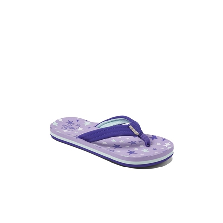 Reef Kids Ahi Flip Flops - Purple  - Click to view a larger image