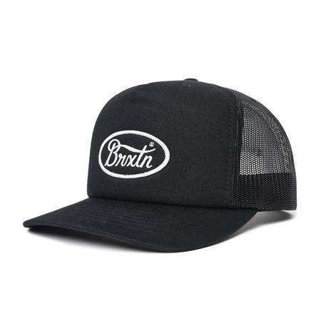 Brixton Parsons Mesh Cap - Black  - Click to view a larger image