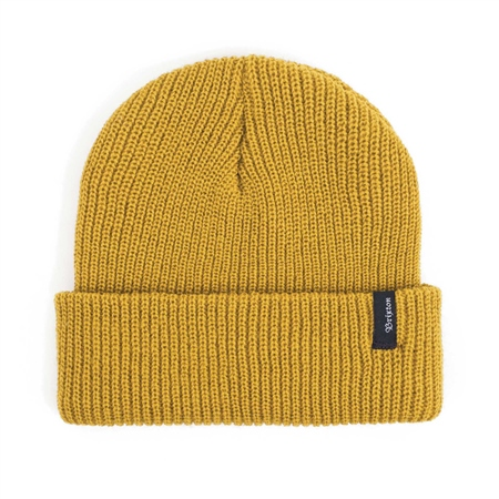 Brixton Heist Beanie - Mustard  - Click to view a larger image