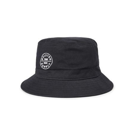 Brixton Oath Bucket Hat - Black  - Click to view a larger image