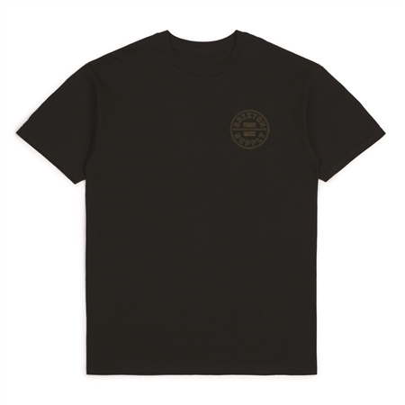 Brixton Oath T-Shirt - Black  - Click to view a larger image
