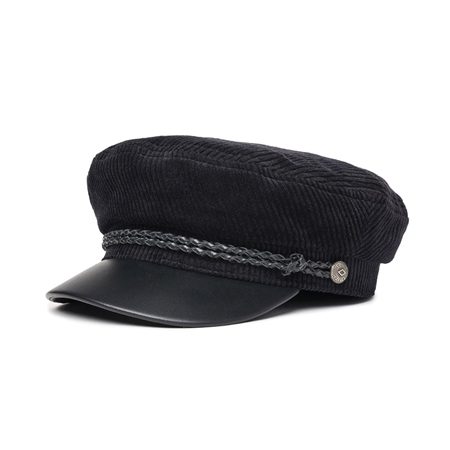 Brixton Fiddler Cap - Black  - Click to view a larger image