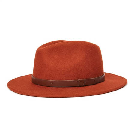 Brixton Messer Fedora Hat - Picante  - Click to view a larger image