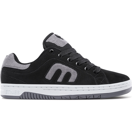 Etnies Calli-Cut Shoes - Black & Grey  - Click to view a larger image