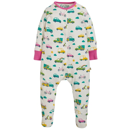 Frugi Lovely Babygrow - Multi  - Click to view a larger image