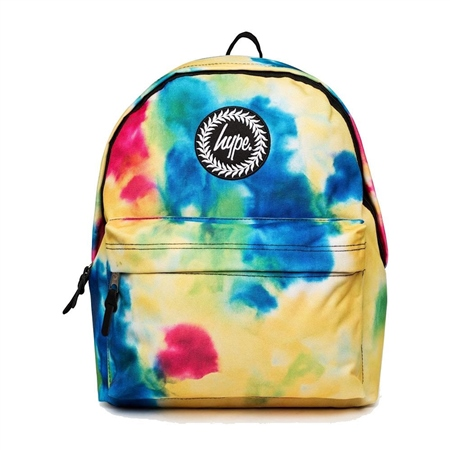 Hype Tie Dye Backpack - Multi  - Click to view a larger image