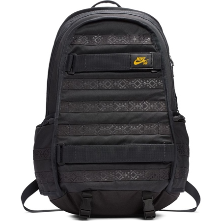 Nike SB Camo AOP Backpack - Black & Grey  - Click to view a larger image