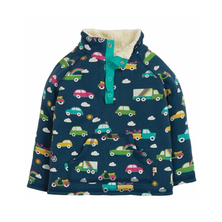 Frugi Girls Snuggle Fleece - Multi  - Click to view a larger image