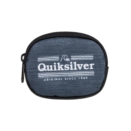 Quiksilver Monedero Coin Wallet - Grey Heather  - Click to view a larger image