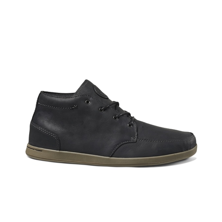 Reef Spiniker Mid NB Shoes - Black  - Click to view a larger image