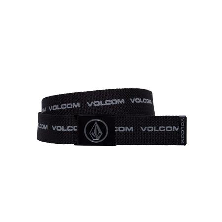 Volcom Circle Web Belt - Black Print  - Click to view a larger image