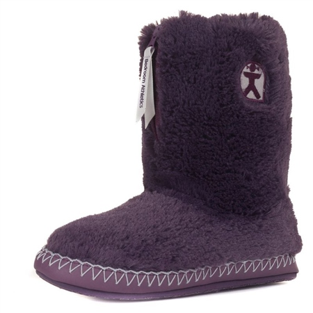 Bedroom Athletics Marilyn Slipper Boots - Grape  - Click to view a larger image