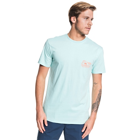 Quiksilver Daily Wax T-Shirt - Turquoise  - Click to view a larger image