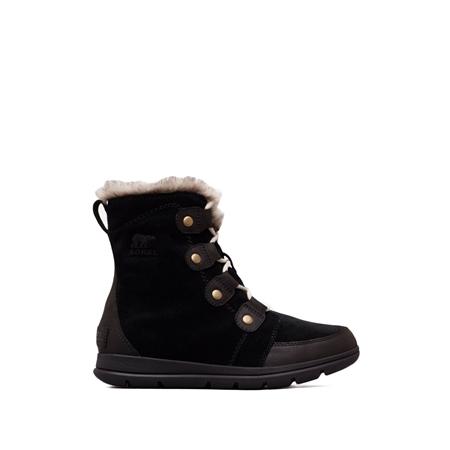 Sorel Explorer Joan Boots - Black  - Click to view a larger image